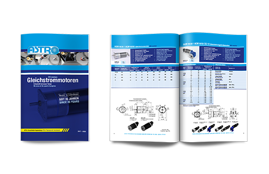Brochure constant-speed motors